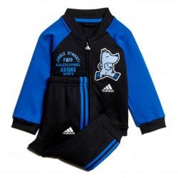 Adidas Baseball Fleece Jogger Set Kisfiú Bébi Együttes (Kék-Fekete) ED1137