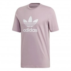 Adidas Originals Trefoil Tee Férfi Póló (Lila-Fehér) ED4714