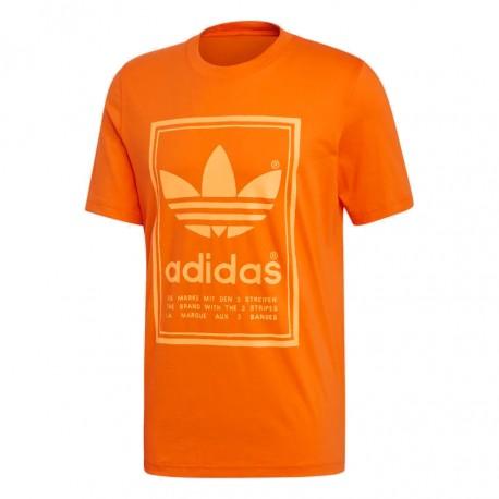 Adidas Originals Vintage Tee Férfi Póló (Narancssárga) ED6919