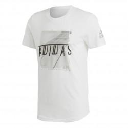 Adidas Sport ID Foil Tee Férfi Póló (Fehér) ED7259