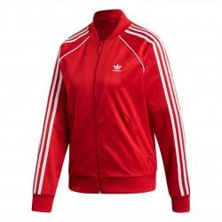 Adidas Originals SST Track Jacket Női Felső (Piros-Fehér) ED7472