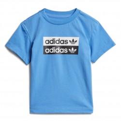 Adidas Originals Tee Kisfiú Bébi Póló (Kék) ED7722