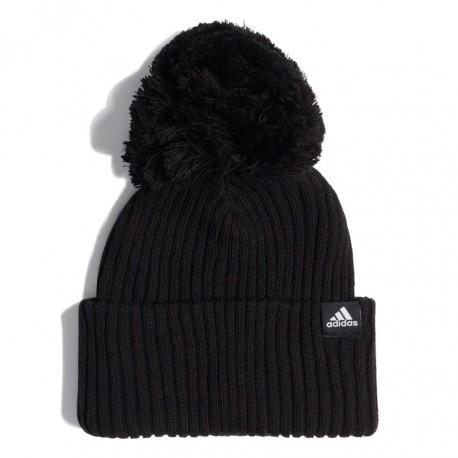 Adidas 3 Stripes Beanie Téli Sapka (Fekete-Fehér) ED8620