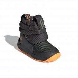 Adidas RapidaSnow I Kisfiú Gyerek Csizma (Szürke-Narancs) G27180