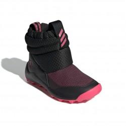 Adidas RapidaSnow C Lány Gyerek Csizma (Fekete-Rózsaszín) EE6172