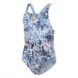 Adidas Parley Swimsuit Lány Gyerek Úszó Dressz (Kék) EH6285