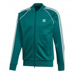 Adidas Originals SST Track Jacket Férfi Felső (Zöld-Fehér) EJ9683