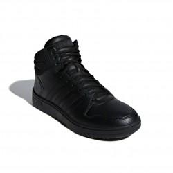 Adidas Hoops 2.0 Mid Férfi Cipő (Fekete) F34809