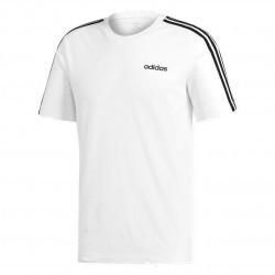 Adidas Essentials 3 Stripes Tee Férfi Póló (Fehér-Fekete) DU0441