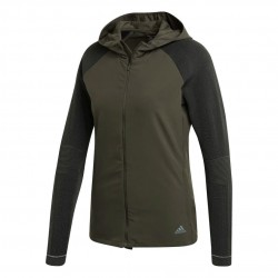 Adidas PHX 2 Jacket Női Futó Felső (Sötétzöld) DY0051