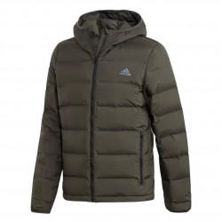 Adidas Helionic Jacket Férfi Téli Kabát (Sötétzöld) DZ1427