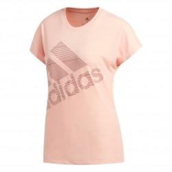 Adidas Badge Of Sport Tee Női Póló (Rózsaszín) EB4496
