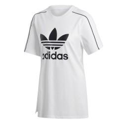 Adidas Originals Slit Tee Női Póló (Fehér-Fekete) EC1877