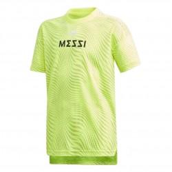 Adidas Messi Tee Fiú Gyerek Póló (Sárga-Fekete) ED5720