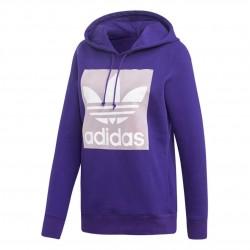 Adidas Originals Trefoil Hoodie Női Pulóver (Lila) EH5554