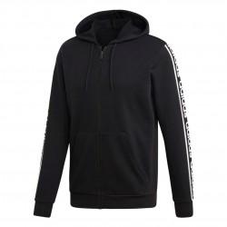 Adidas C90 Branded Hoodie Férfi Felső (Fekete-Fehér) EI5615
