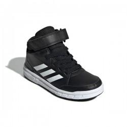 Adidas AltaSport Mid K Fiú Gyerek Cipő (Fekete-Fehér) G27113