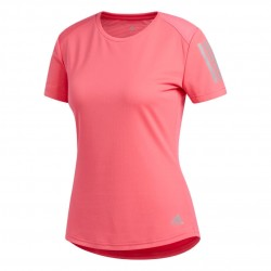 Adidas Own The Run Tee Női Futó Póló (Rózsaszín) DZ2270