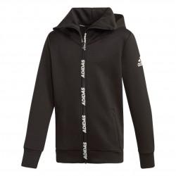 Adidas Climawarm Hoodie Fiú Gyerek Felső (Fekete-Fehér) ED5763