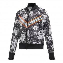 Adidas Farm Rio Track Jacket Lány Gyerek Felső (Fekete-Fehér) EH6146