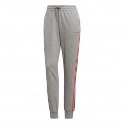 Adidas Essentials 3 Stripes Pants Női Nadrág (Szürke-Rózsaszín) EI0773