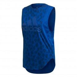 Adidas ID Muscle Tank Top Női Trikó (Kék) EJ5580