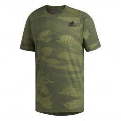 Adidas FreeLift Camo Burnout Tee Férfi Póló (Zöld) EJ7230