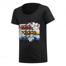 Adidas Farm Rio Cardio Tee Lány Gyerek Póló (Fekete-Színes) FI2739