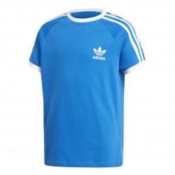 Adidas Originals 3 Stripes Tee Fiú Gyerek Póló (Kék-Fehér) ED7791