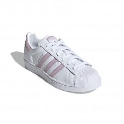 Adidas Originals Superstar W Női Cipő (Fehér-Lila) EE7400