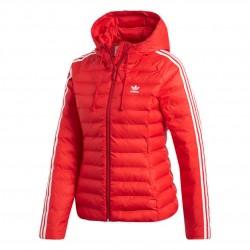 Adidas Originals Slim Jacket Női Kabát (Piros-Fehér) ED4785