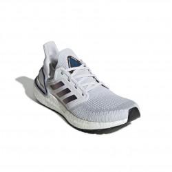 Adidas UltraBOOST 20 W Női Futó Cipő (Fehér-Kék) EG0715