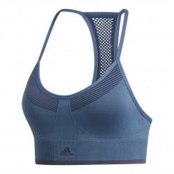 Adidas All Me Primeknit Sports Bra Női Sportmelltartó (Kék) EA3373