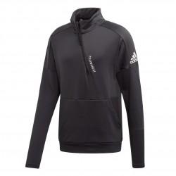 Adidas ID Climaheat Zip Férfi Felső (Fekete-Fehér) EB7631