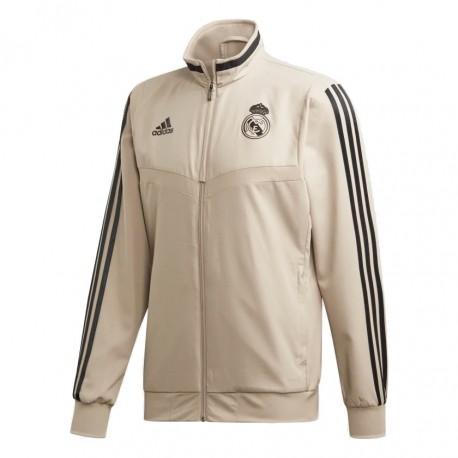 Adidas Real Madrid Presentation Jacket Férfi Felső (Arany Fekete) EI7473