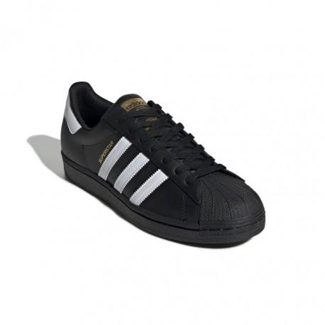 Adidas Originals Superstar Férfi Cipő (Fekete-Fehér) EG4959