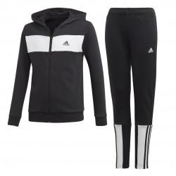 Adidas YB Cotton Track Suit Fiú Gyerek Melegítő (Fekete-Fehér) EK4304