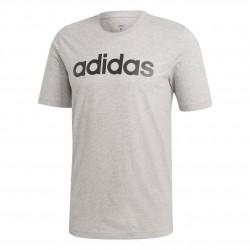 Adidas Essentials Linear Logo Tee Férfi Póló (Szürke-Fekete) DU0409