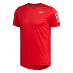 Adidas Own The Run Tee Férfi Futó Póló (Piros) FL6944