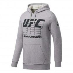 Reebok UFC FG Hoodie Férfi Pulóver (Szürke) FK2342