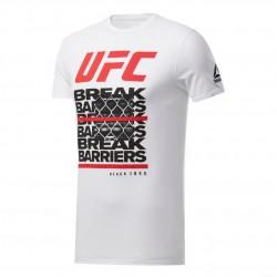 Reebok UFC FG Capsule Tee Férfi Póló (Fehér-Fekete) FK2350