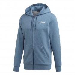 Adidas Essentials Linear Hoodie Férfi Felső (Kék-Fehér) EI9822