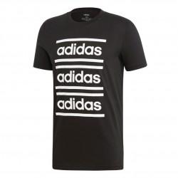 Adidas C90 Branded Tee Férfi Póló (Fekete-Fehér) EI5572