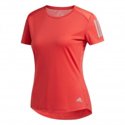 Adidas Own The Run Tee Női Futó Póló (Piros) FL7813