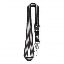 Adidas Performance Lanyard Kulcstartó (Fekete-Fehér) ED1757