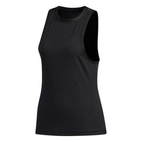 Adidas Engineered Knit Tank Top Női Trikó (Fekete) DX7552