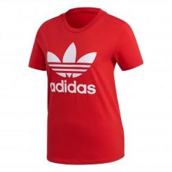 Adidas Originals Trefoil Tee Női Póló (Piros-Fehér) FM3302