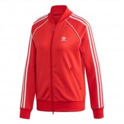Adidas Originals SST Track Jacket Női Felső (Piros-Fehér) FM3313