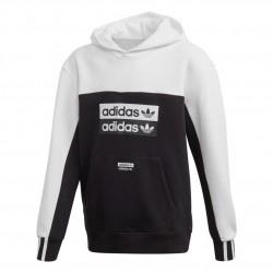 Adidas Originals Hoodie Uniszex Gyerek Pulóver (Fekete-Fehér) FM6627