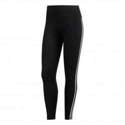 Adidas Believe This 3 Stripes Tights Női Nadrág (Fekete-Fehér) FJ7181